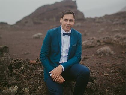 Yann Bénard, Wedding planner à la Réunion et dans le monde